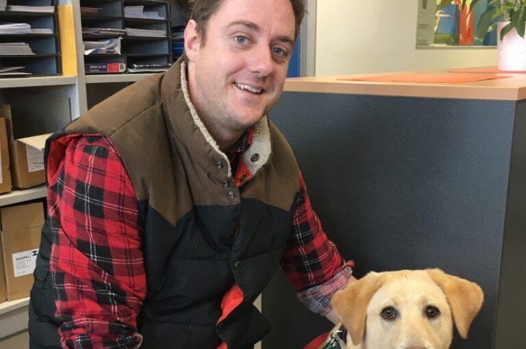Puppy Raiser Profile: Julian
