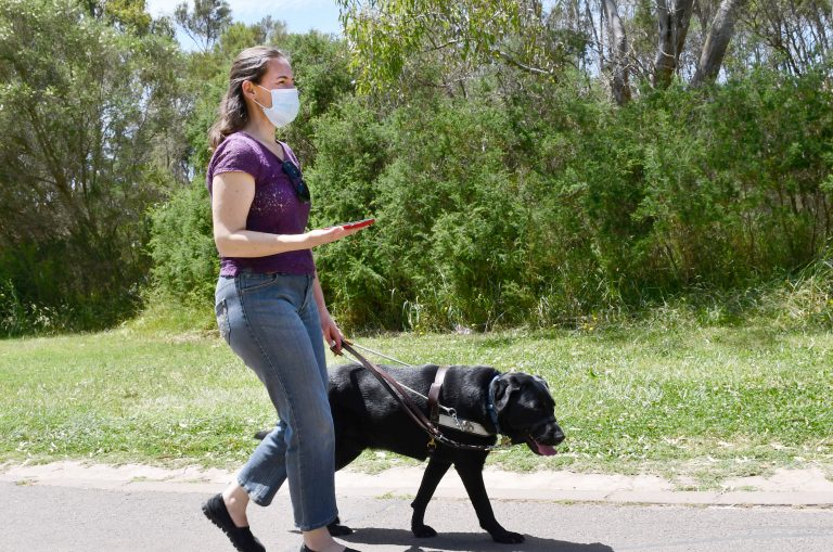 Parks Victoria and Guide Dogs Increasing Access to Green Space this Summer